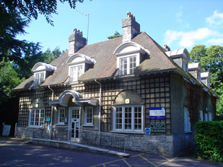 Canford cliffs library